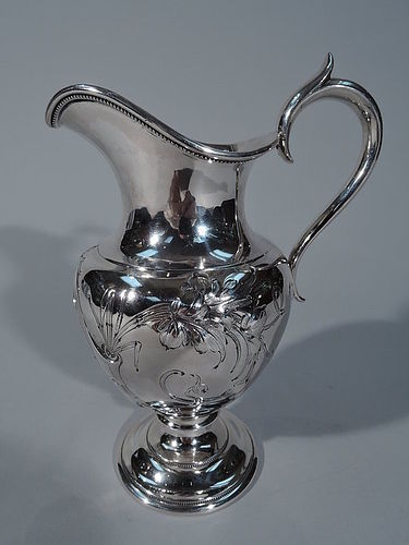 Early Gorham Coin Silver Large Creamer C 1850