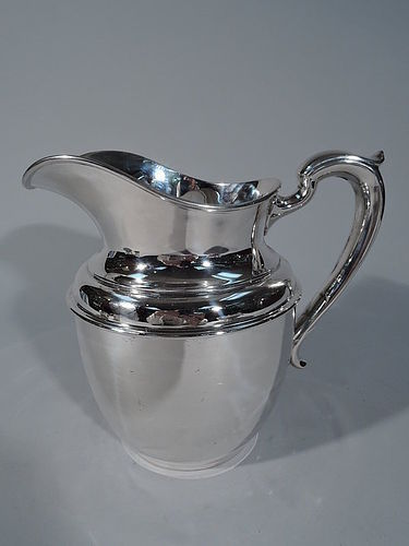 Tiffany Sterling Silver Water Pitcher C 1920
