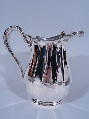 Cartier American Modern Sterling Silver Water Pitcher