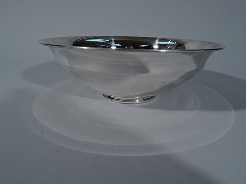 Tiffany American Modern Sterling Silver Bowl C 1922
