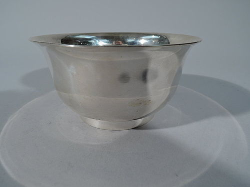 Small Antique English Georgian Sterling Silver Bowl by Tiffany