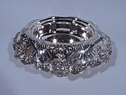 Antique Tiffany Sterling Silver Centerpiece Bowl with Shells