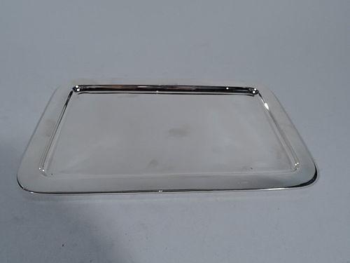 Tiffany Modern Sterling Silver Rectangular Tray