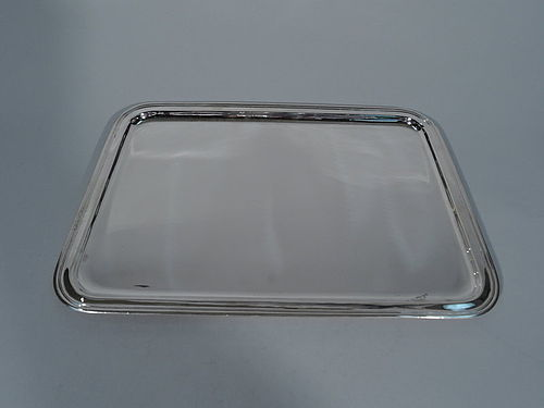 Tiffany Modern Sterling Silver Rectangular Tray
