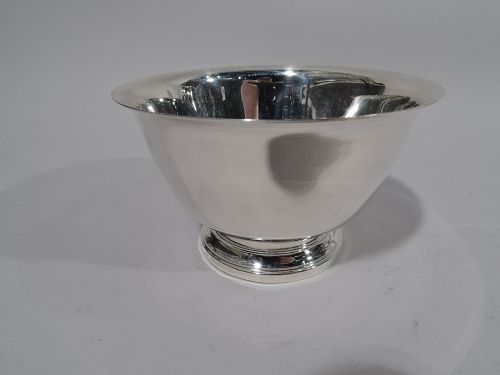 Tiffany Sterling Silver Small Scale Revere Bowl