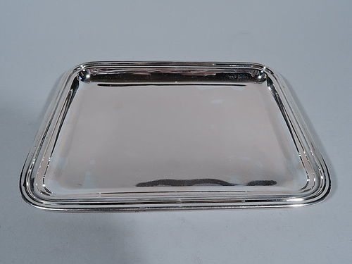 Smart Italian Silver Rectangular Tray