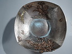 Rare and Beautiful Gorham Mixed Metal Sterling Silver Bowl 1880