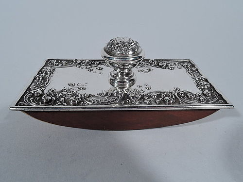 Antique Gorham Sterling Silver Ink Blotter