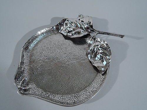 Buccellati Italian Sterling Silver Apple Bowl