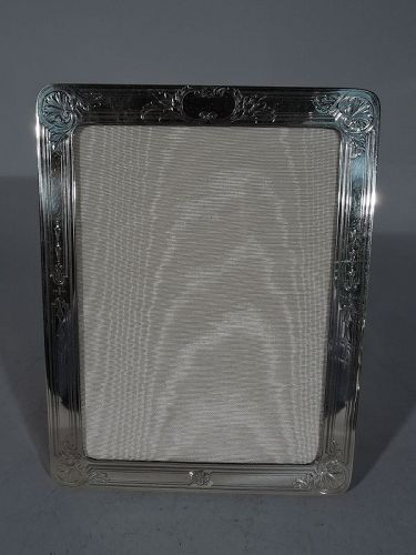 American Edwardian Sterling Silver Picture Frame C 1920