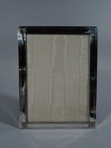 Tiffany Edwardian Sterling Silver Picture Frame