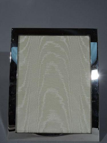 Tiffany Sterling Silver Desk Frame for Portrait or Landscape Photo
