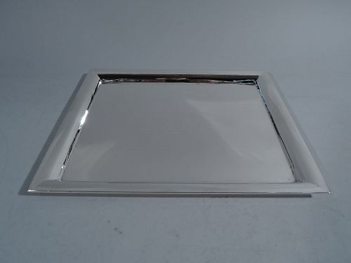 Tiffany Sterling Silver Sharp and Modern Rectangular Tray
