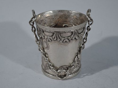 Antique South American Silver Incense Burner
