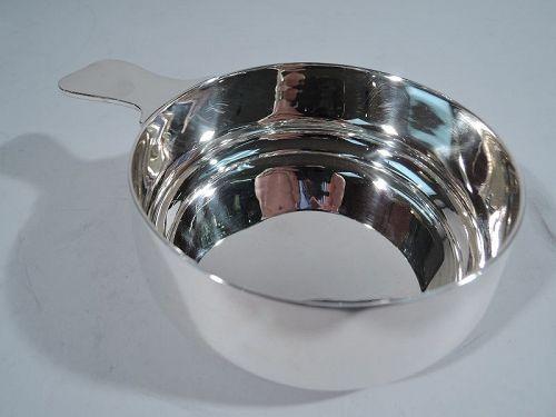 Tiffany American Modern Sterling Silver Porringer