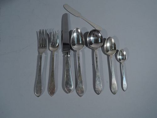 Tiffany Faneuil Sterling Silver Set for 12 with 105 Pieces