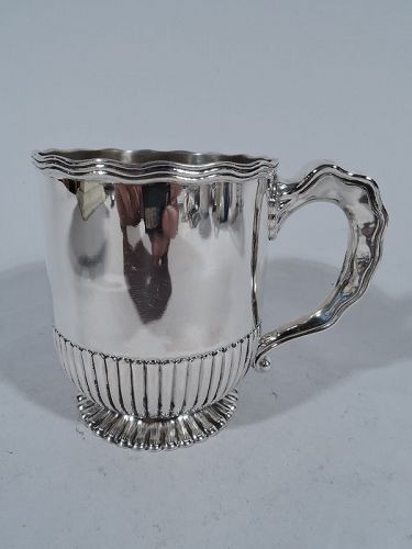 Antique Gorham American Sterling Silver Baby Cup 1913
