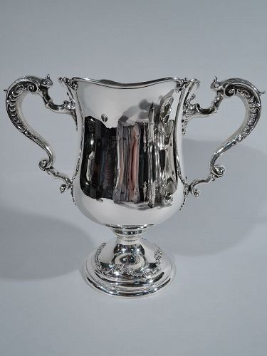 Antique American Sterling Silver 2-Handled Trophy Cup