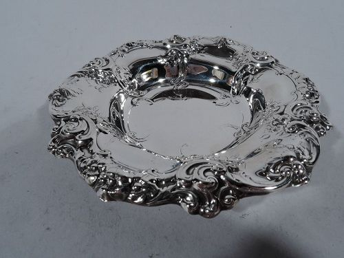 Old Fashioned Gorham Sterling Silver Boudoir Bowl