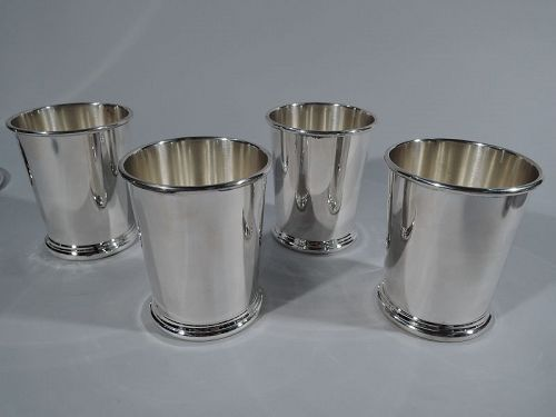 Set of 4 American Sterling Silver Mint Juleps