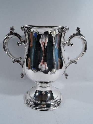 American 2-Handled Sterling Silver Trophy Cup by Meriden Britannia