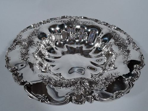 Pretty Antique Sterling Silver Bowl by Bailey, Banks & Biddle
