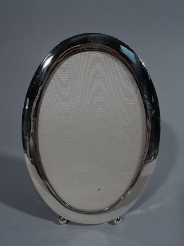 Fine Sterling Silver Oval Picture Frame