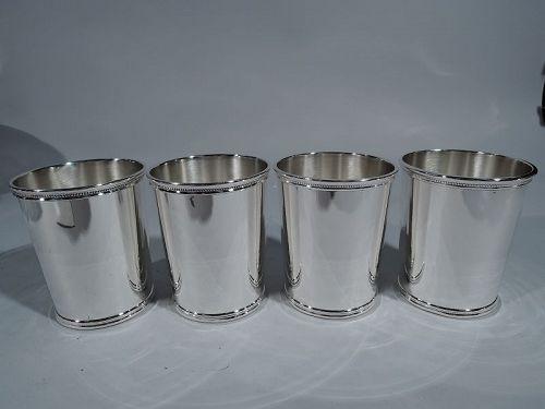 I Like Ike Julep Cups � Set of 4 Scearce Eisenhower Mint Juleps