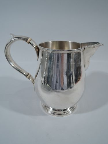 Fine English Georgian Sterling Silver Water Pitcher 1811