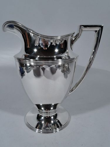 Tiffany Sterling Silver Water Pitcher C 1945