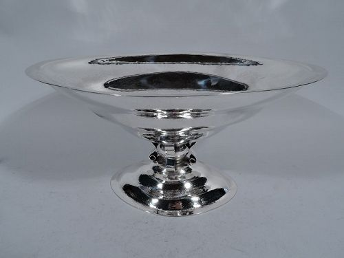 Reed & Barton Hand-Hammered Sterling Silver Craftsman Centerpiece Bowl