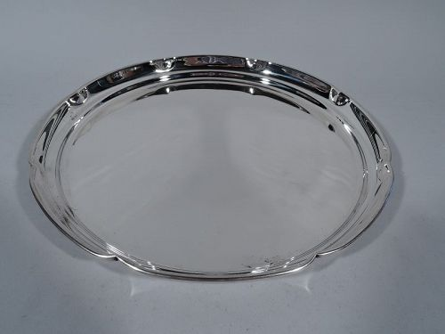 Cartier Modern Sterling Silver Serving Tray