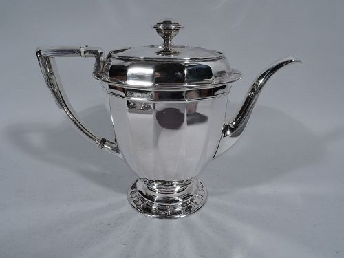 Antique Tiffany St Dunstan Sterling Silver Coffeepot
