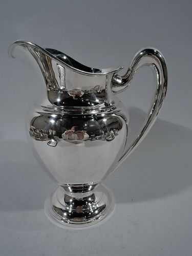 Cartier Modern Classic Sterling Silver Water Pitcher