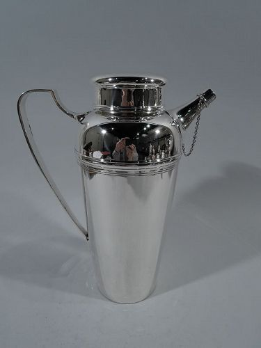 Tiffany Sterling Silver Party Size Cocktail Shaker
