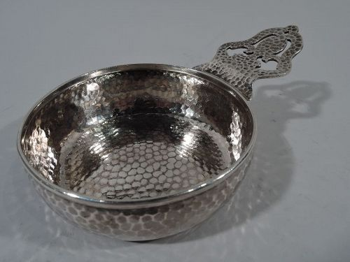 Tiffany Craftsman Hand-Hammered Sterling Silver Porringer