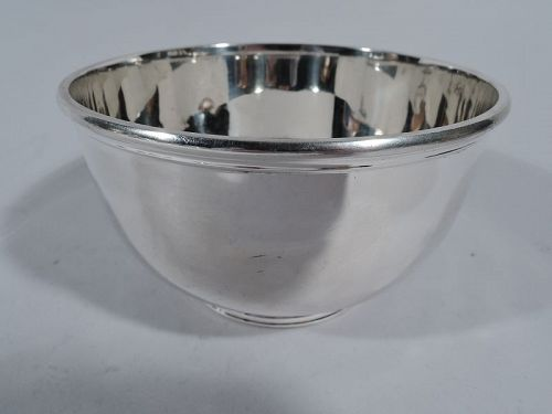 Georg Jensen USA Colonial Revival Sterling Silver Bowl