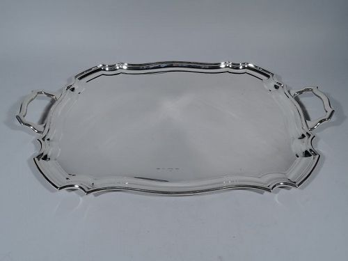 Antique English Sterling Silver Tea Tray 1929