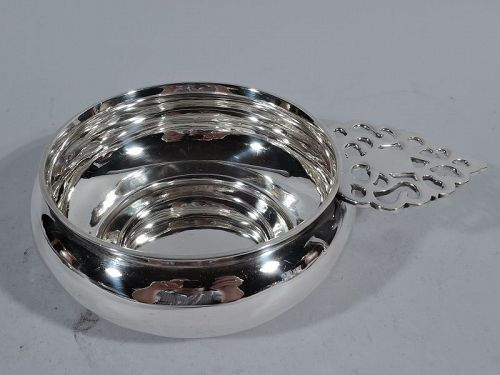 Traditional American Sterling Silver Porringer by Goodnow & Jenks