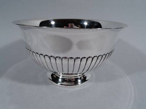Cartier Modern Classical Sterling Silver Footed Bowl