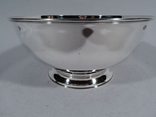 Tiffany Federal Style Sterling Silver Bowl