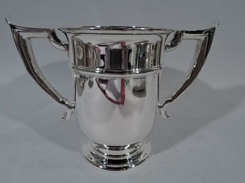 Fine Classic Sterling Silver Trophy Cup by Gorham