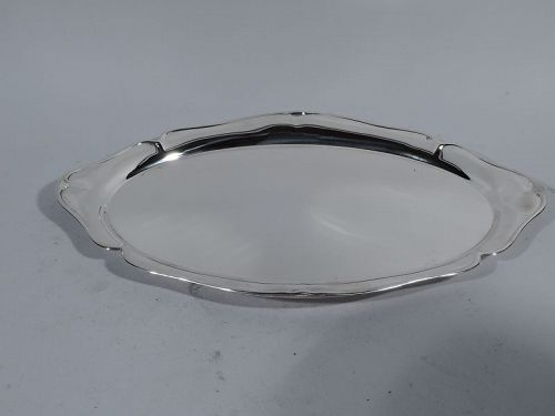 Pretty English Sterling Silver Tray