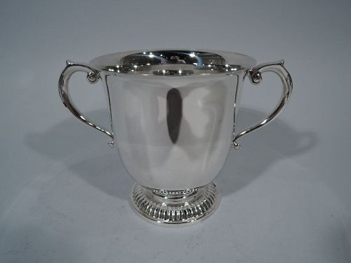 Classic Tiffany Sterling Silver Trophy Cup