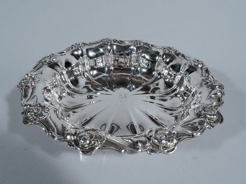Art Nouveau Sterling Silver Bowl by Collectible Unger Bros