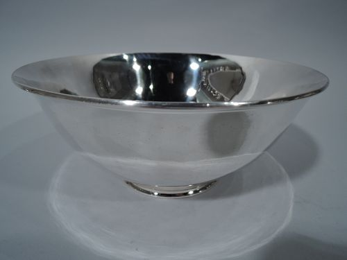 Arthur Stone Sterling Silver Craftsman Revere Bowl