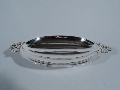 Tiffany Sterling Silver Classic Modern Melon Bowl