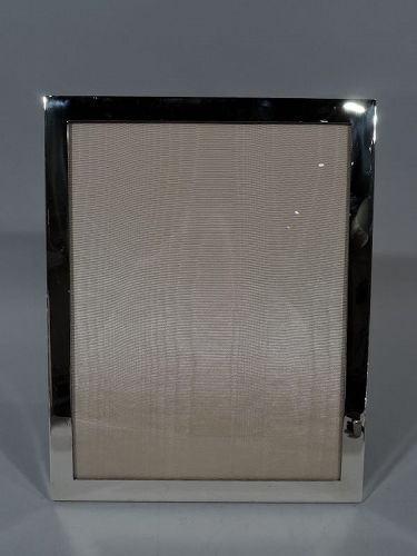 Tiffany Sterling Silver Large Modern Office Picture Frame