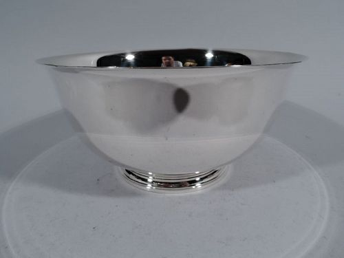 Tiffany Sterling Silver Revere Bowl with Lots of Room for Engraving