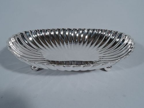 Gorham Sterling Silver Oval Bowl in Leamington Pattern